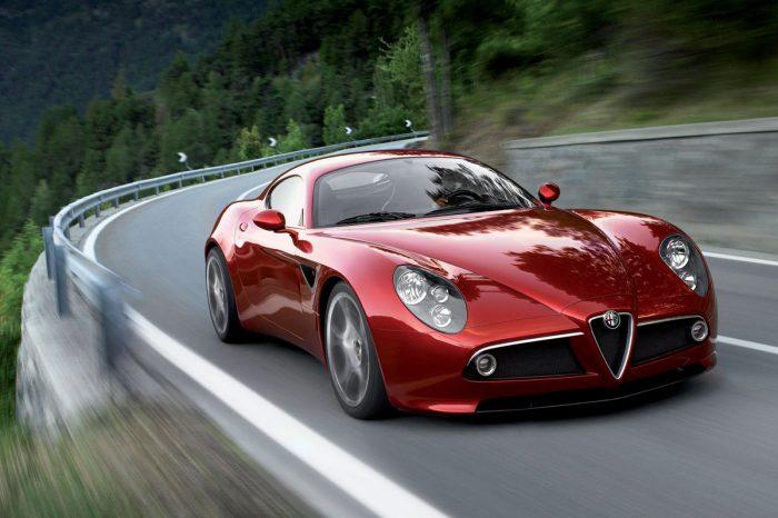 Alfa Romeo 6C sports car under development with V6 engine