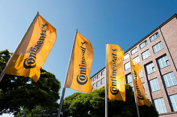 Continental's annual sales rise to 44.4 billion Euro: organic growth at about 3 percent
