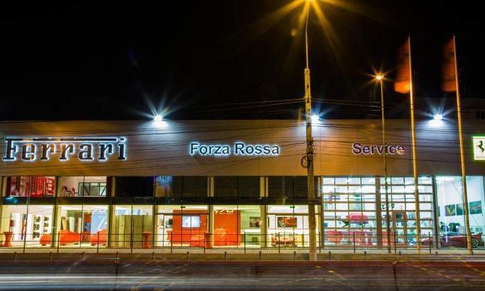 Romanian investors open one of the biggest Ferrari showrooms