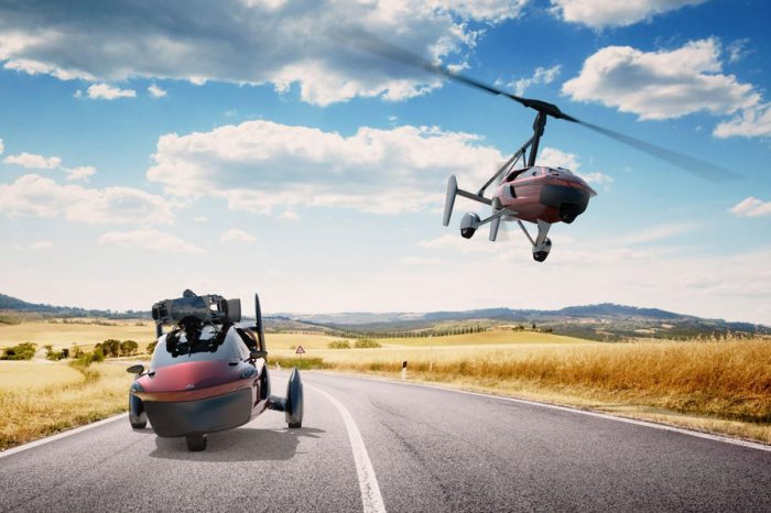 World's first production road and air-legal flying car due at Geneva