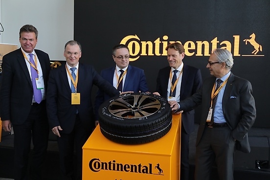 Continental celebrates the production of the 10,000,000th tire at its plant in Russia