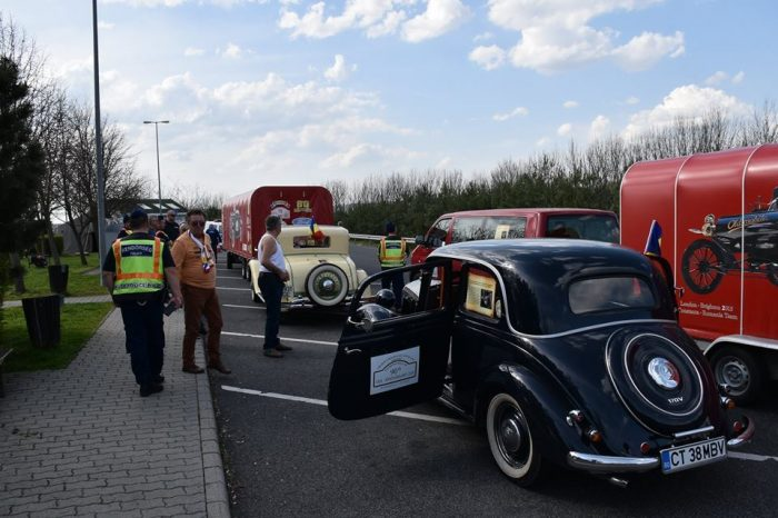 Historical cars rally kicks off close to Bucharest this weekend
