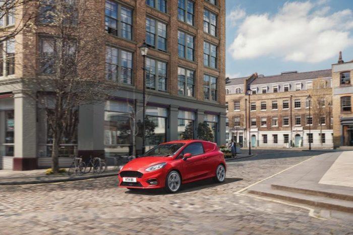 Ford reveals all-new Fiesta Sport Van