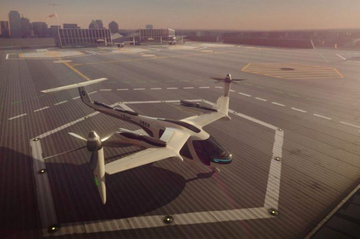 Uber opens up contest for a third flying taxi city