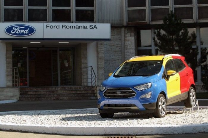 Ford confirms second vehicle for Craiova assembly plant in Romania, 200 million Euro new investment and 1,500 new jobs