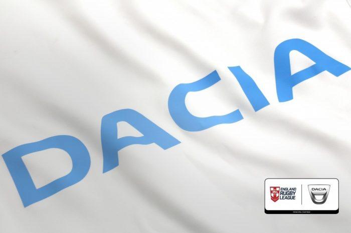 Dacia becomes principal partner of England Rugby League