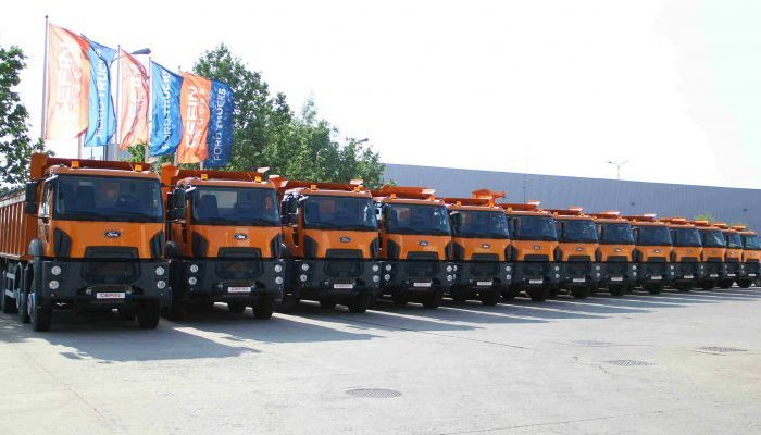 Ford Trucks delivers 103 vehicles to CNAIR