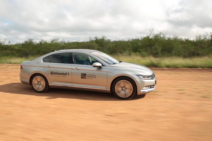 Continental launches tire tests with self-driving vehicles