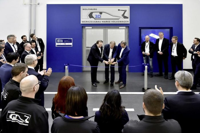 Volkswagen opens 3D printing centre in cooperation with HP