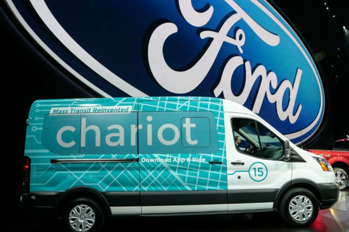 Ford to shut down ride-share service Chariot