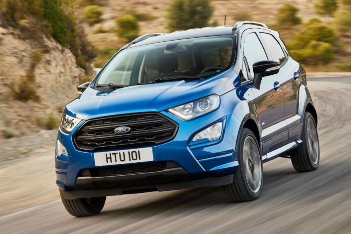 Ford produced 142,000 Ecosport units in Craiova in 2018: production and exports have tripled compared to 2017