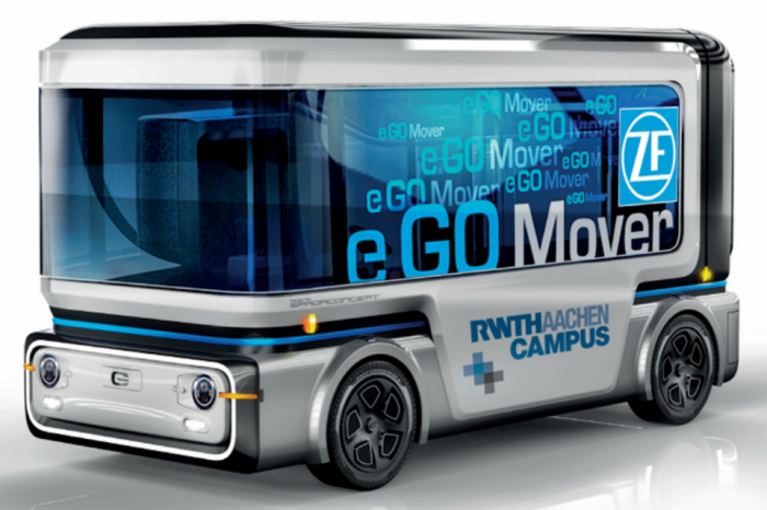 ZF to start autonomous electric vehicles production this year