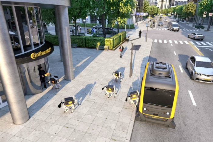 How Continental envisions the future of mobility: autonomous shuttles and delivery robots