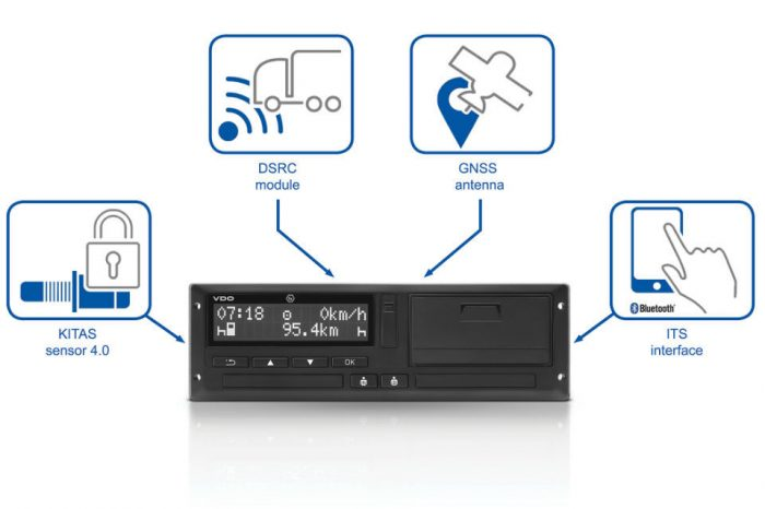 Continental receives type approval for its intelligent tachograph