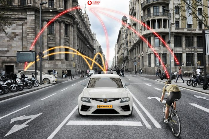 Continental partners with Vodafone to develop road safety technologies