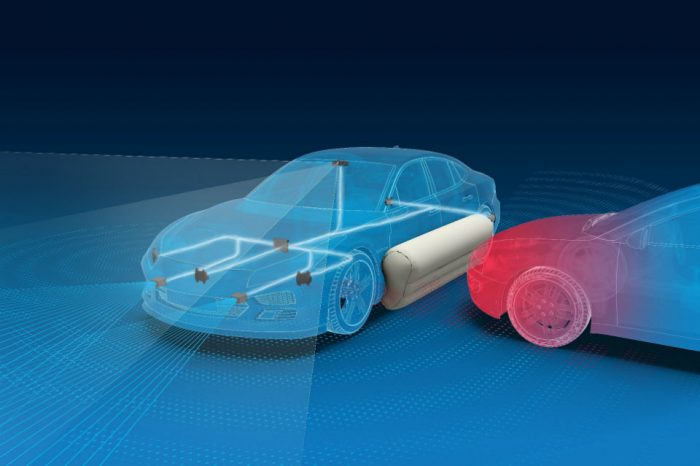 ZF creates external airbags to make new cars even safer