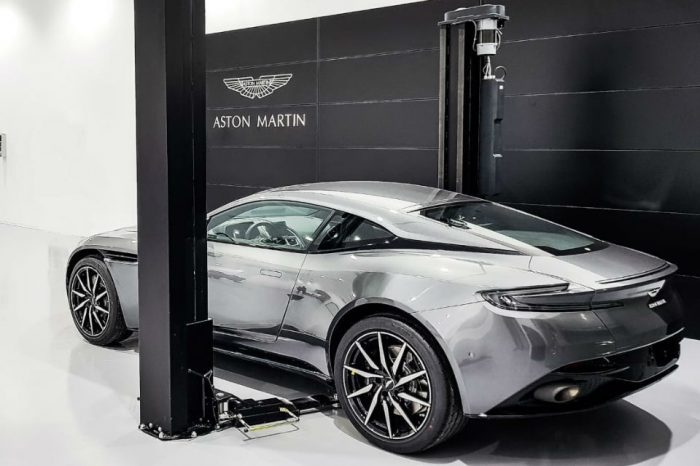 Aston Martin officially launched its Romanian operations, new showroom in Otopeni