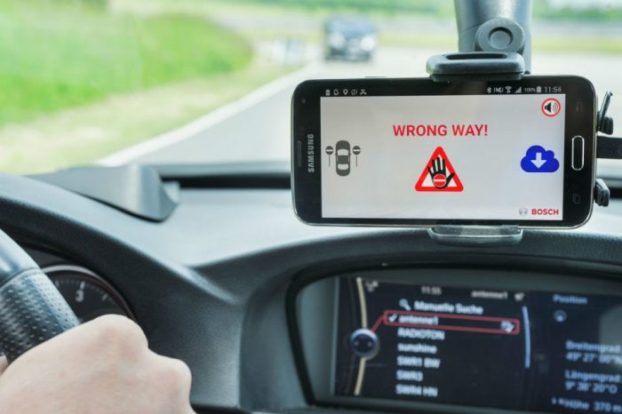 Bosch deploys new wrong-way driver alert system in 13 European countries