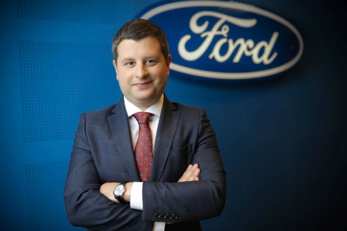 Cristian Prichea is the new general manager of Ford's National Sales Company in Romania
