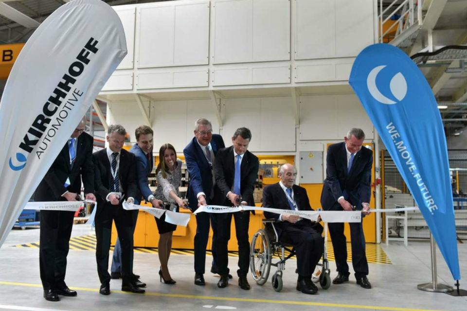 Kirchhoff Automotive opens new plant in Romania following ten million Euro investment