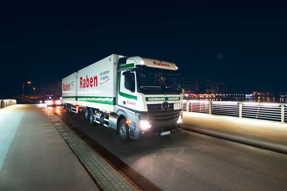 Raben Group launches new connections on the Germany-Romania and the Czech Republic-Romania lines