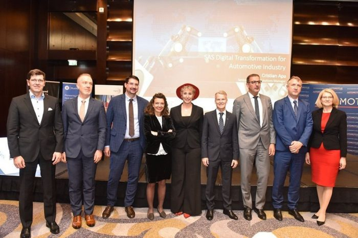 Four main trends for the automotive industry:  electrification or alternative powertrains, autonomous driving, connectivity and shared mobility, highlighted at  The Automotive Industry Forum, 2019 edition