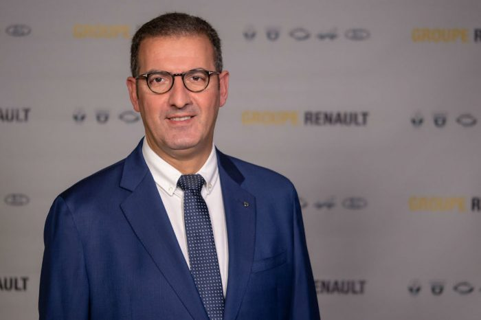 Christophe Dridi, General Manager of Dacia, is the new president of ACAROM