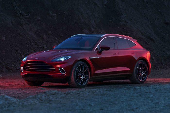 Aston Martin launches DBX SUV in Romania