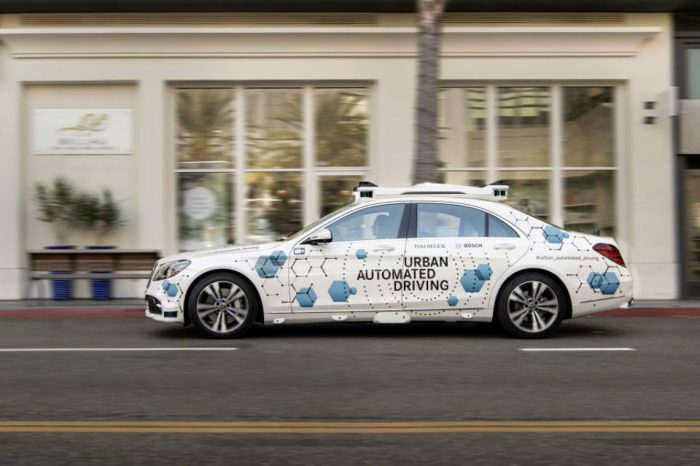 Bosch and Mercedes-Benz start pilot project for automated ride-hailing service