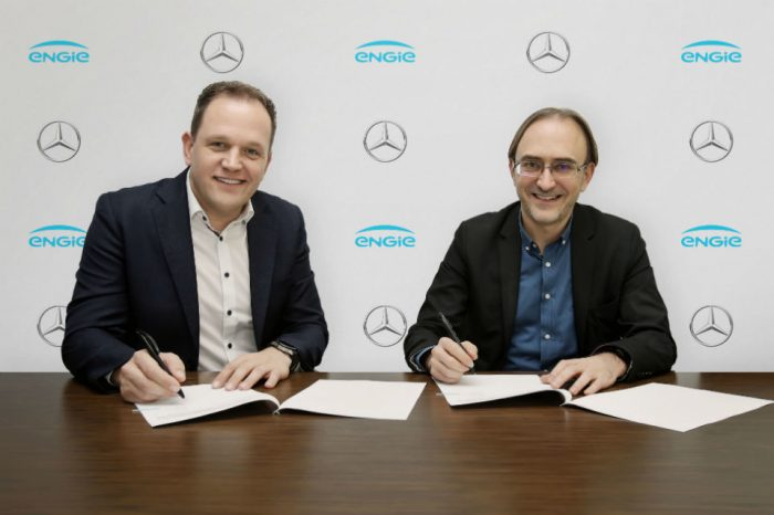 Mercedes-Benz Romania partners with Engie Romania on electric mobility