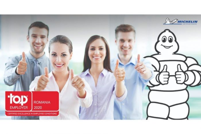 Michelin certified as Top Employers Romania 2020