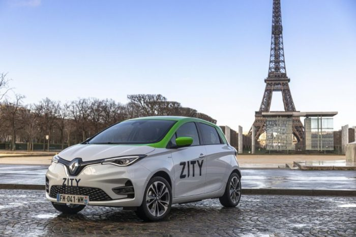 Renault launches electric car-sharing service ZITY in Paris