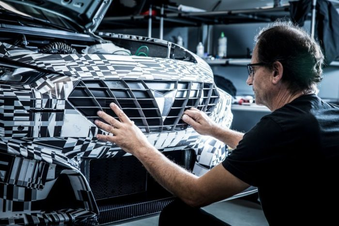 Cupra engineers use 3D printing to manufacture parts for racing car