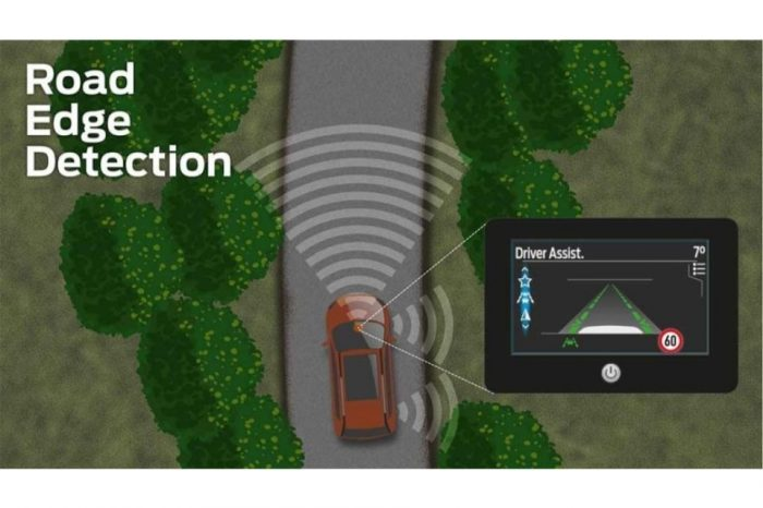 Ford launches new Road Edge Detection technology to help drivers stay on the road