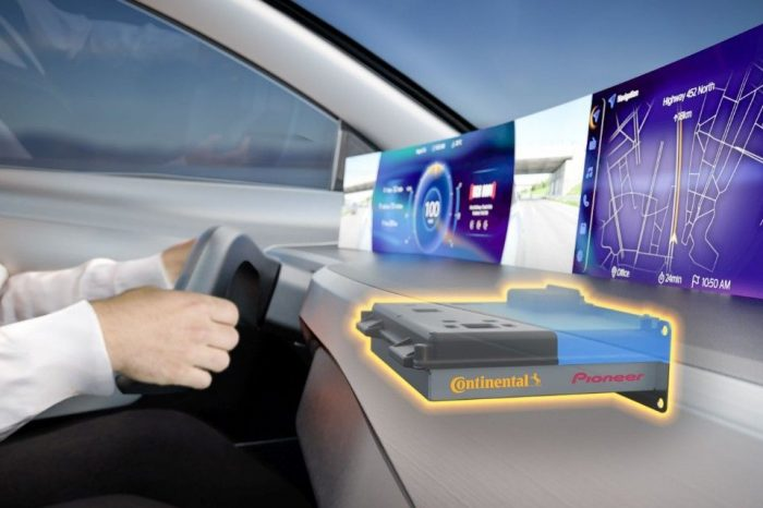 Continental and Pioneer sign strategic partnership for 'new user experience'