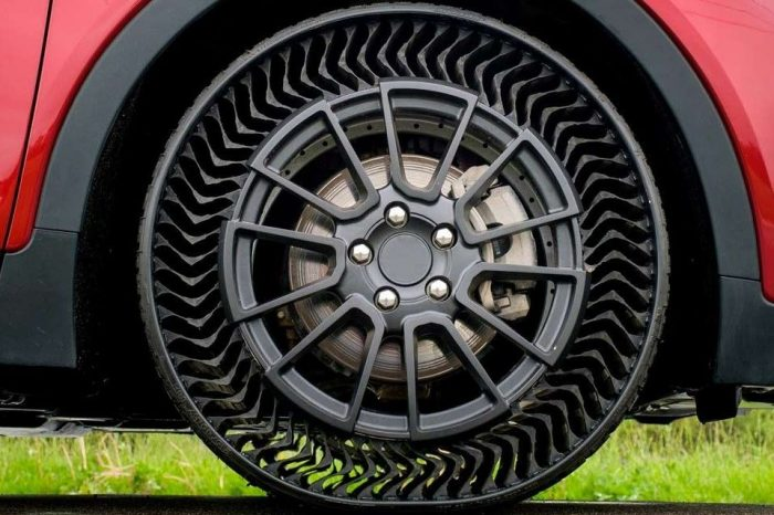 Michelin takes the air out of tires for passenger vehicles