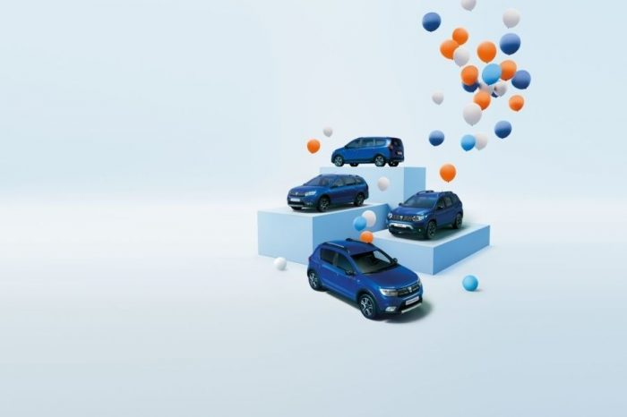Dacia celebrates 15 years of presence in Europe, launches anniversary limited series