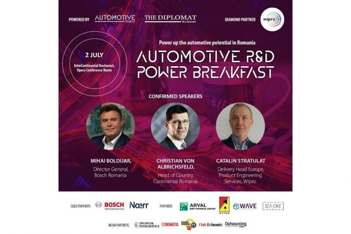 Automotive Power Breakfast on Research & Development takes place on July 2