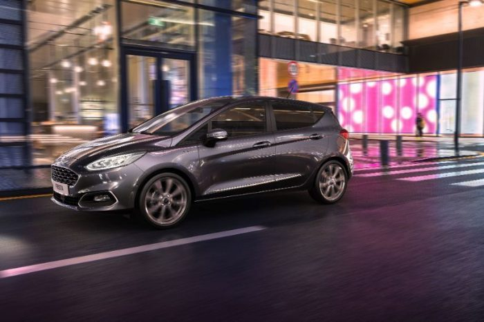 Ford introduces electrified powertrain to top-selling Fiesta for the first time