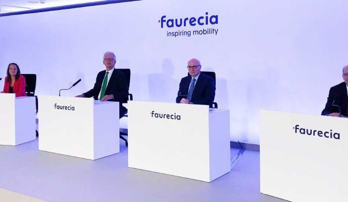 Faurecia approves renewal of mandates of three board members and the Chairman of the board of Directors