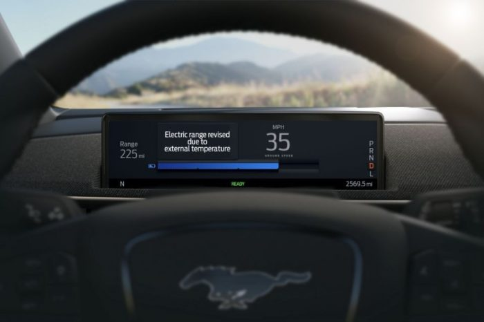 Ford says all-electric Mustang Mach-E will enhance accuracy of driving range estimates using cloud-connectivity