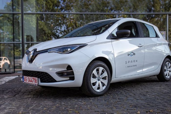 Renault Romania to deliver 400 Zoes for the SPARK car-sharing fleet