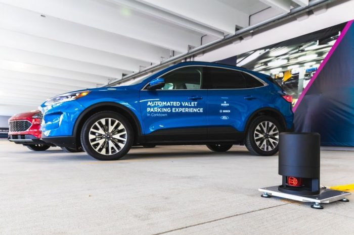Ford, Bosch explore highly automated vehicle technology to help make parking easier