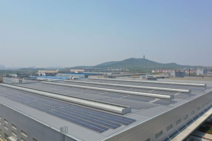 Continental starts photovoltaic power generation project in China
