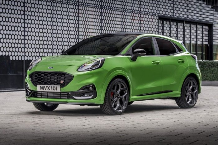 Ford unveils all-new Puma ST, the first Ford Performance model produced in Romania