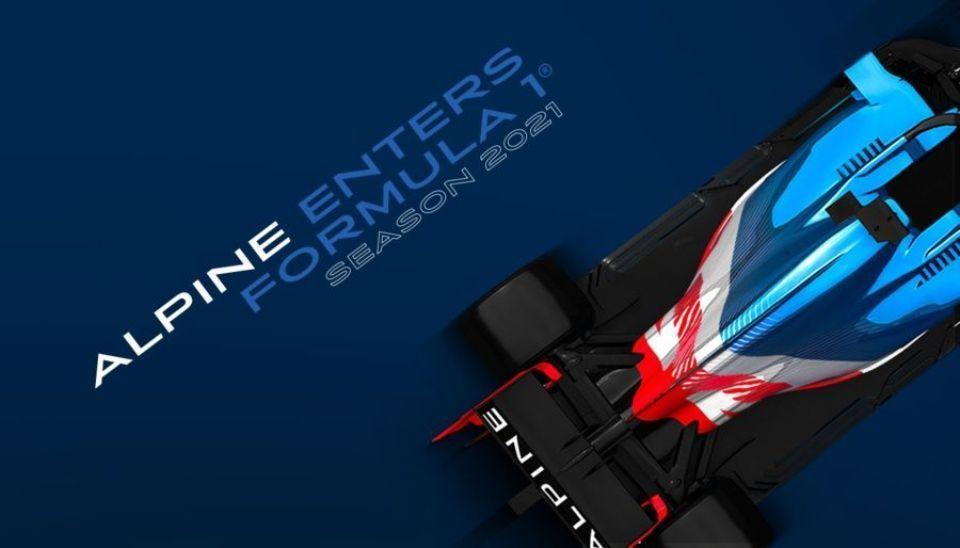 Groupe Renault Formula 1 team renamed Alpine F1 from 2021 season