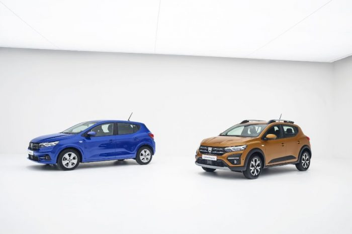 Dacia reveals the all-new Logan, Sandero and Sandero Stepway