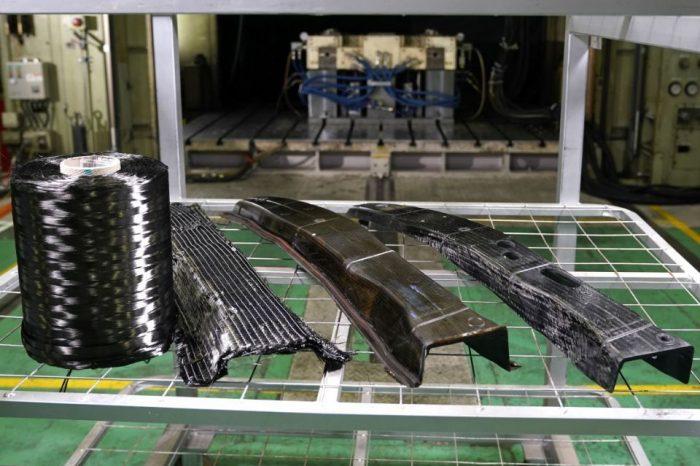 Nissan announces 'breakthrough' in carbon fibre parts production