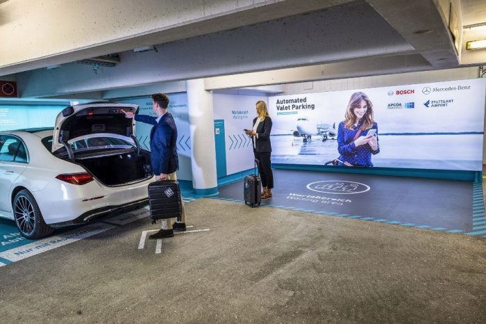 Bosch, Mercedes to provide the world's first commercial automated valet parking service