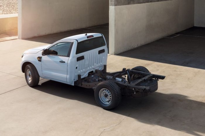 Ford introduces new Ranger chassis cab variant for the first time